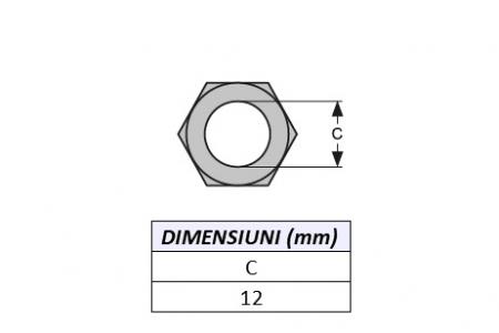 Piulita prindere dinte miniexcavator E600N-ITR [1]