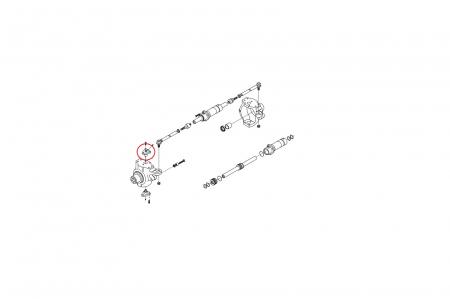 Pivot superior buldoexcavator Volvo-CARRARO1