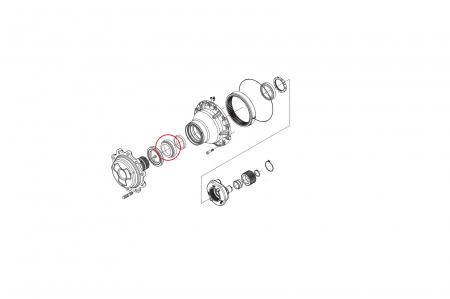 Rulment butuc 045180-CARRARO1
