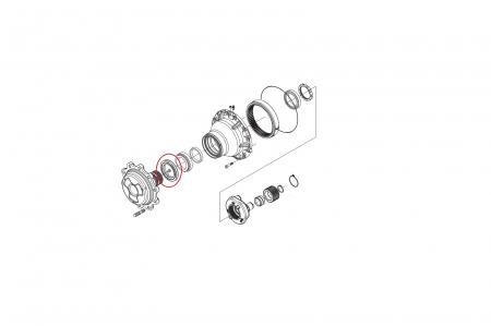 Simering butuc 149703-CARRARO1