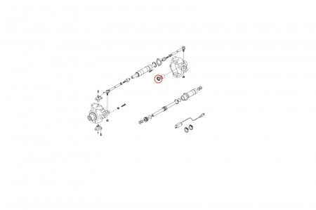 Simering planetara buldoexcavator Komatsu-CARRARO1