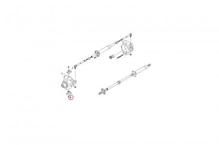 Surub buldoexcavator Komatsu-CARRARO1