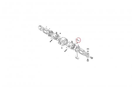 Surub M12X110 8.8 buldoexcavator Komatsu-CARRARO [1]
