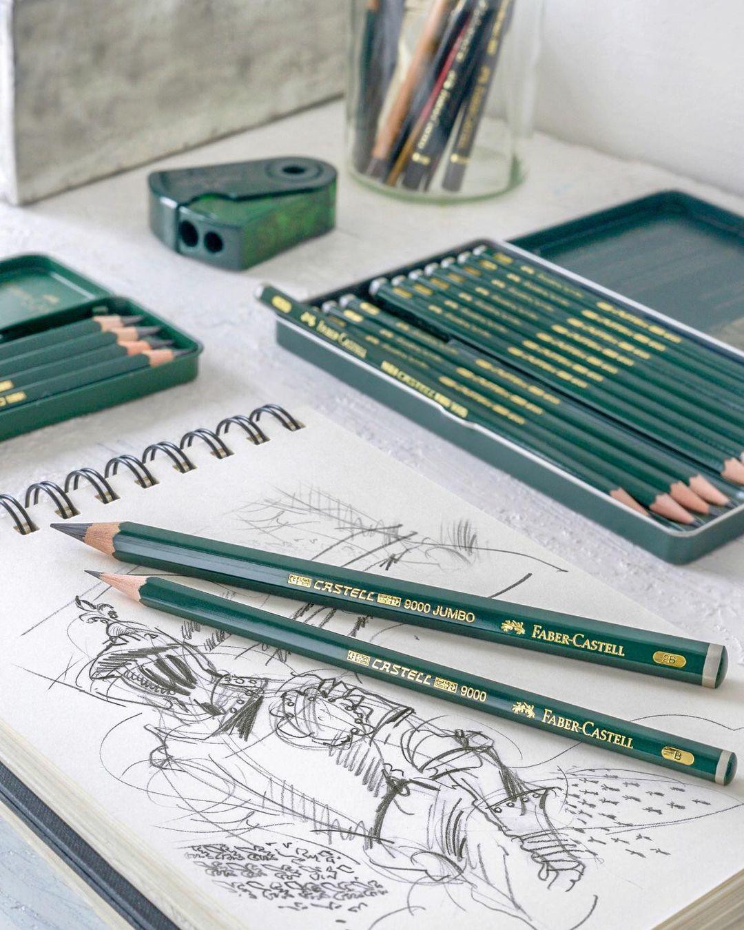 Set Creioane Grafit Castell 9000  Faber-Castell