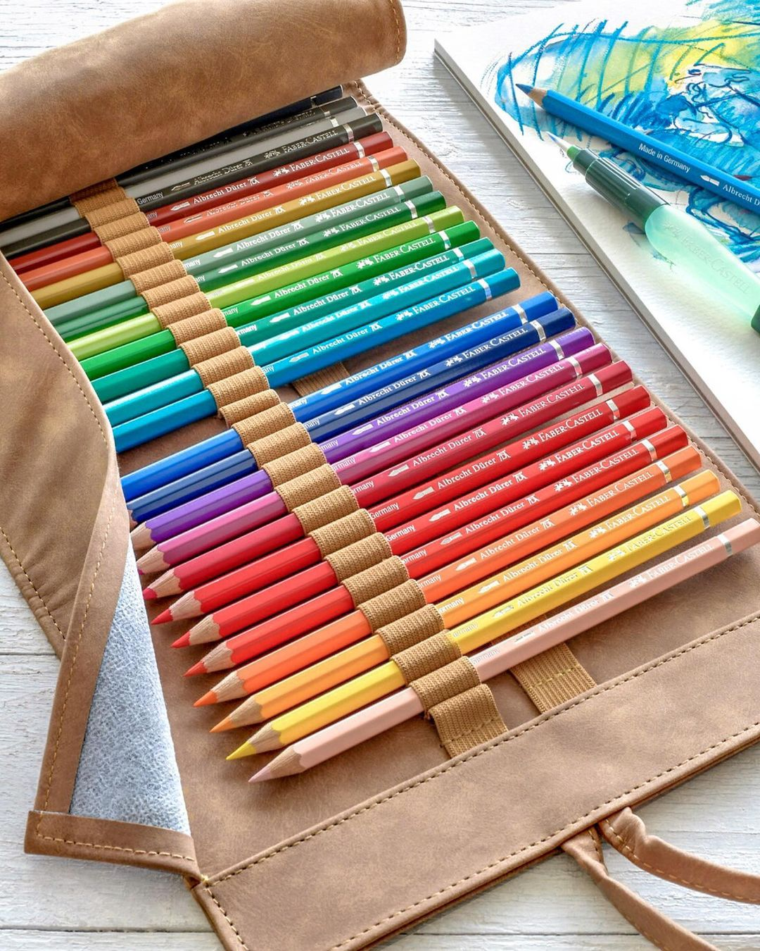 Rollup Creioane Colorate A.Durer & Accesorii Faber-Castell