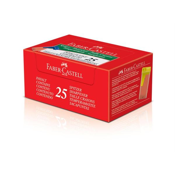 Ascutitoare Plastic Cu Container Standard Faber-Castell 1