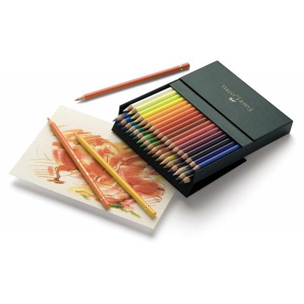 Creioane Colorate Polychromos 36 Culori Cutie Studio Faber-Castell 1