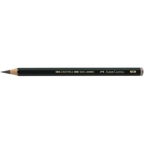 Creion Grafit Castell 9000 Jumbo Faber-Castell 1