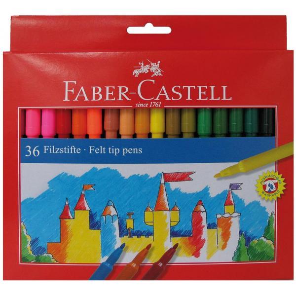 Carioci 36 culori Faber-Castell 0