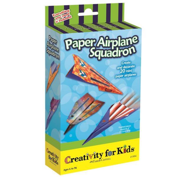 Set Creativity Avioane Hartie Faber-Castell 0