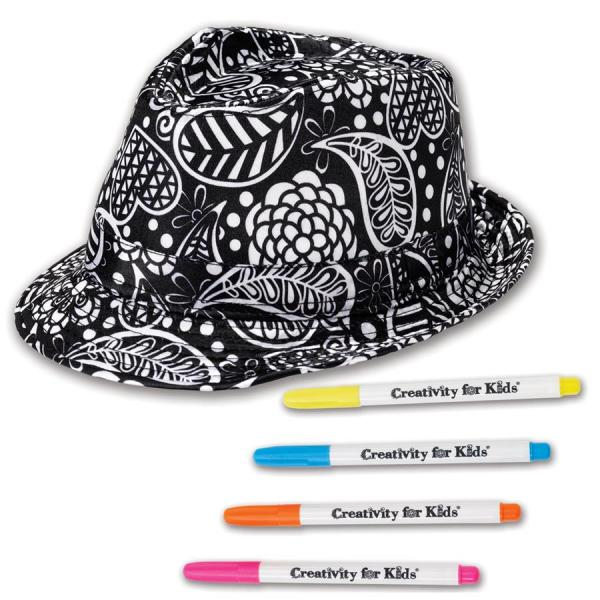 Set Creativity Palarie Fedora Faber-Castell 4