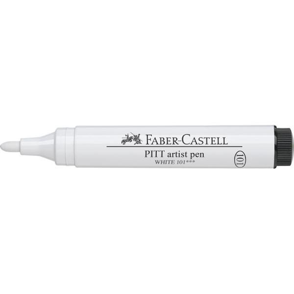 Pitt Artist Pen 2.5 Alb Faber-Castell 3