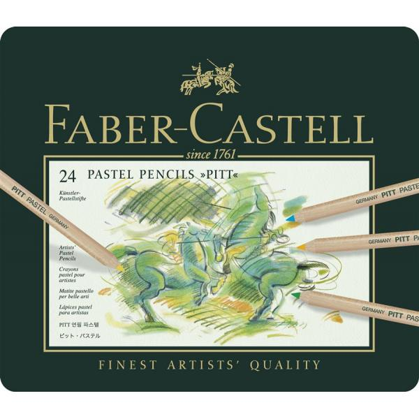 Creioane Pastel Pitt 24 Culori Faber-Castell [1]