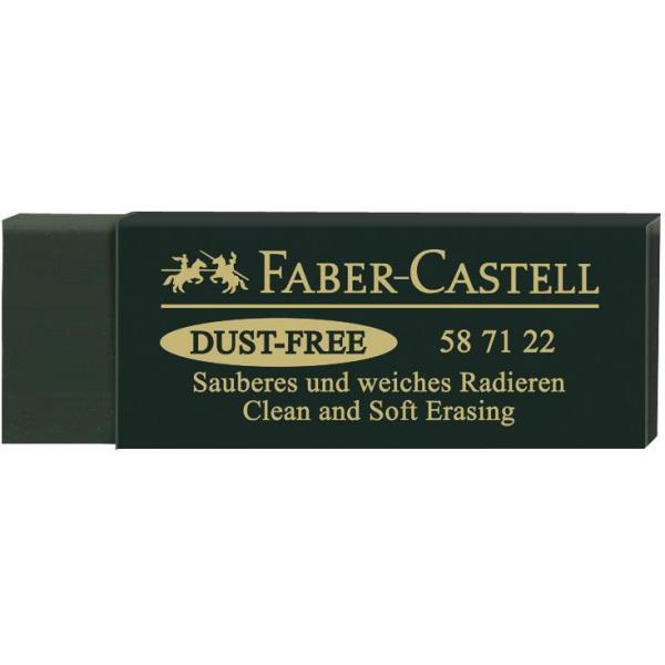 Radiera Arta Dust Free 20 Verde Faber-Castell [0]
