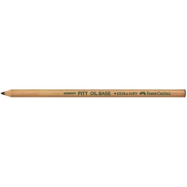 Creion Ulei Pastel Pitt Negru Faber-Castell 0