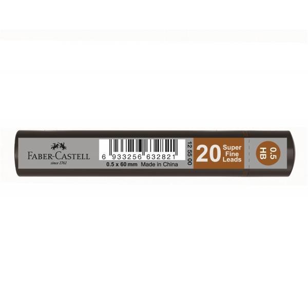 Mina Creion 0.5mm 20 Buc/Cut Grip Faber-Castell [0]