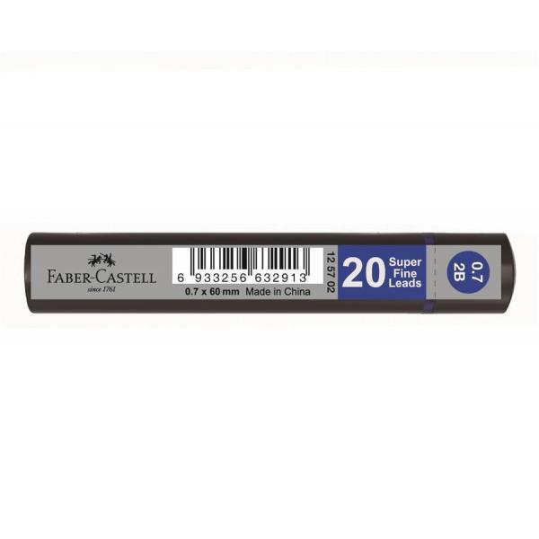 Mina Creion 0.7mm 20 Buc/Cut Grip Faber-Castell 0