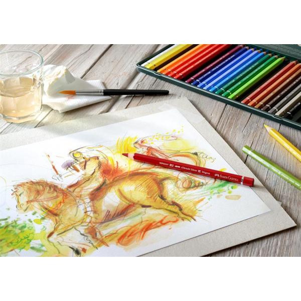Creioane Colorate 24 Culori A.Durer Magnus Cutie Metal Faber-Castell 1