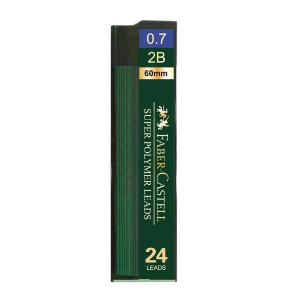 Mina Creion 0.7mm 24 Buc/Etui Super Hi-Polymer Faber-Castell 1
