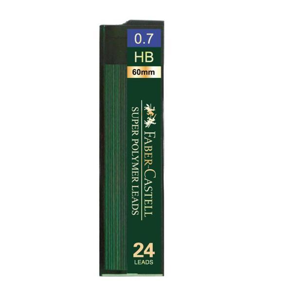 Mina Creion 0.7mm 24 Buc/Etui Super Hi-Polymer Faber-Castell 2