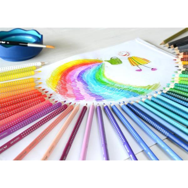 Creioane Colorate Grip 2001 48 Culori Cutie Metal Faber-Castell 2