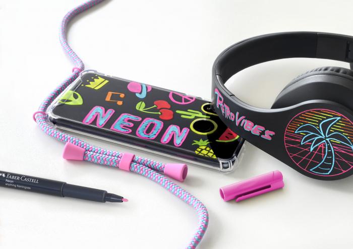 Set 6 Markere Neon Faber-Castell [2]