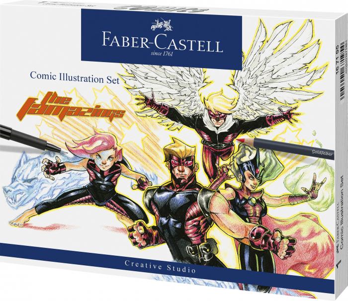 Set Comic Illustration 15 Piese Faber-Castell [0]