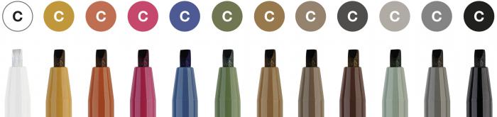 Pitt Artist Pen Caligrafie Cutie Studio 12 buc/set Faber-Castell [2]