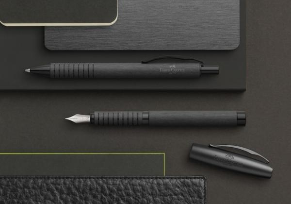 Stilou Essentio Aluminium Black Faber-Castell 3