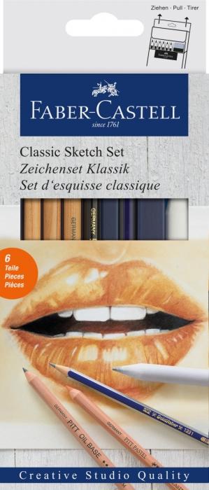 Set Desen 6 Buc Pentru Schite Faber-Castell 0