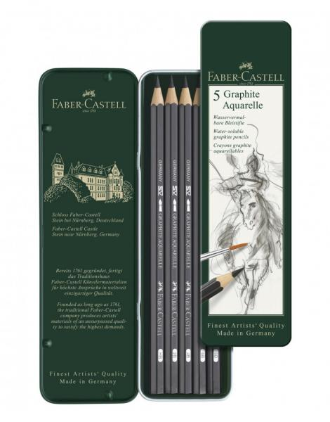 SET 5 BUC CREION GRAFIT AQUARELLE Faber-Castell [0]