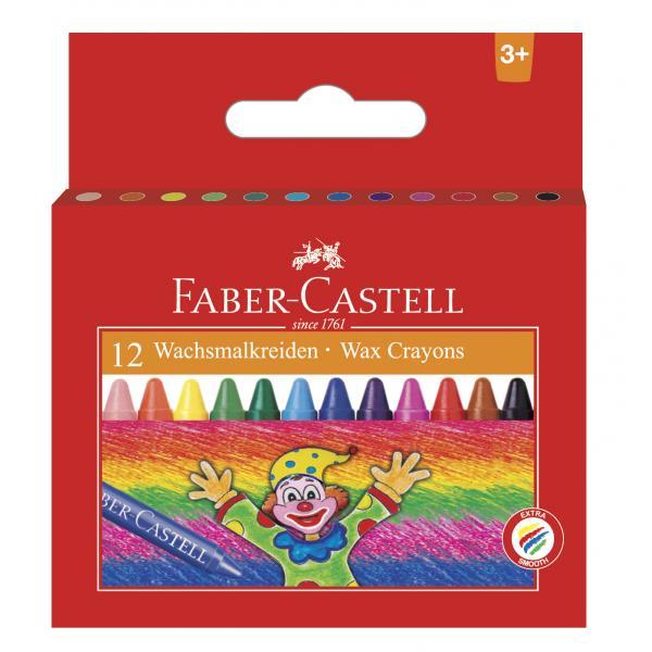 Creioane Cerate Clown 12 culori Faber-Castell [0]