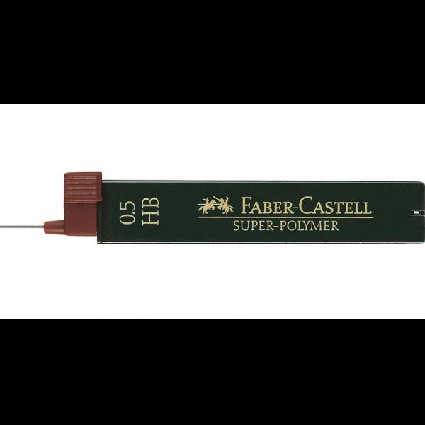 Mina Creion 0.5 mm Super-Polymer Faber-Castell (HB/ B/ 2B) [0]