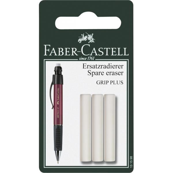 Blister 3 Buc Radiera pt GRIP PLUS Faber-Castell [0]