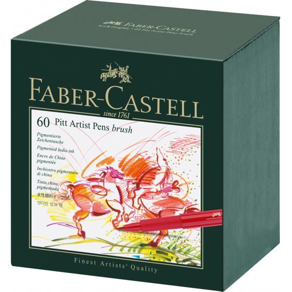 Pitt Artist Pen Cutie Studio 60 buc Faber-Castell 0