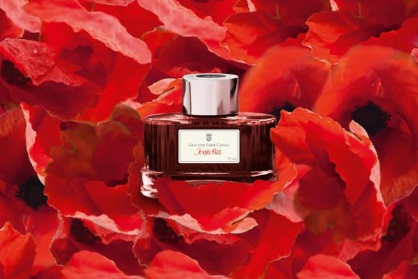 Calimara Cerneala India Red 75 ml Graf von Faber-Castell [0]