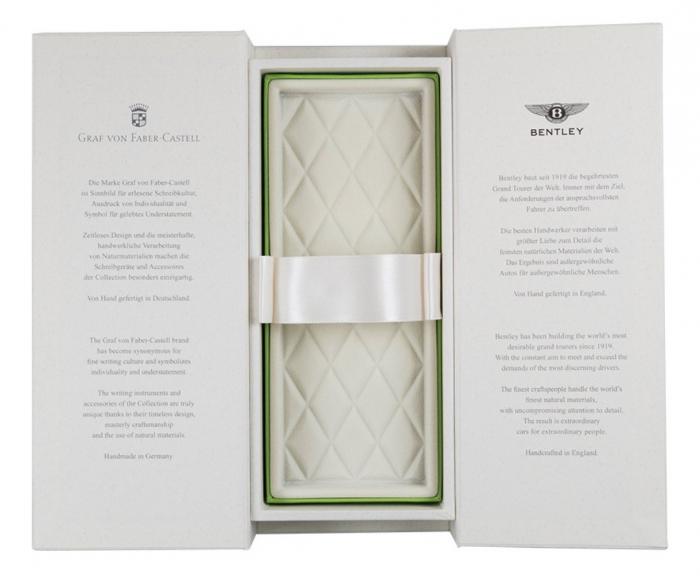 Stilou Bentley White Satin Graf Von Faber-Castell 2