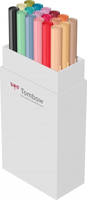 ABT Dual Brush Pen Secundary Colours - set 18 culori Tombow 3