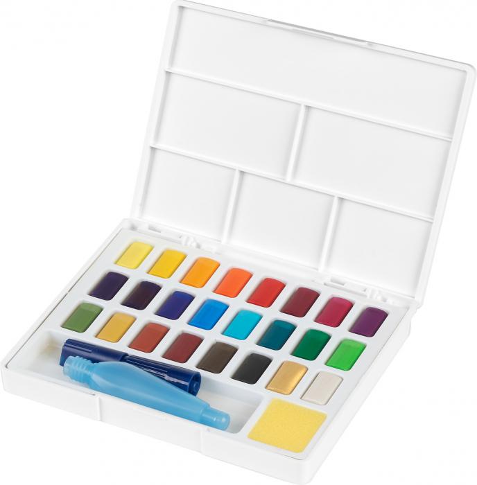 Acuarele 24 Culori Creative Studio Faber-Castell [0]