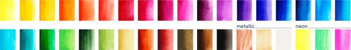 Acuarele 36 Culori Creative Studio Faber-Castell [2]