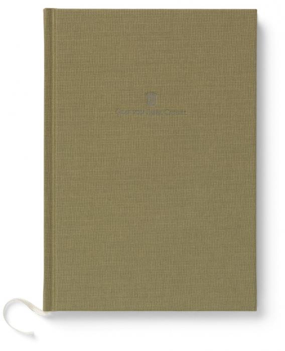 Agenda A5 Olive Green Graf Von Faber-Castell 0