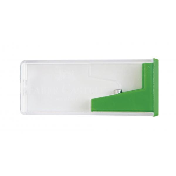Ascutitoare Plastic Cu Container Standard Faber-Castell 0