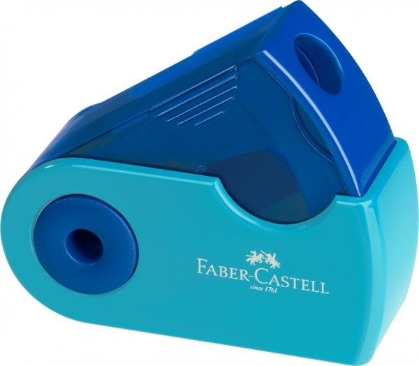 Ascutitoare Plastic Simpla Sleeve-Mini Pastel Faber-Castell 0