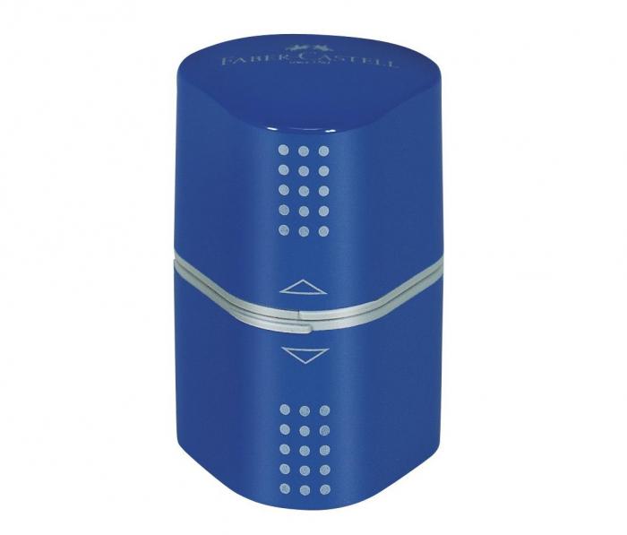 Ascutitoare Tripla Grip 2001 Rosu/Albastru Faber-Castell [0]