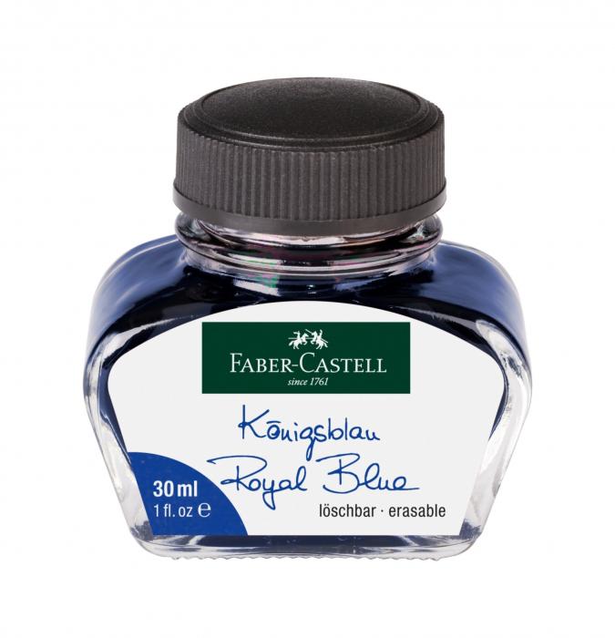 Calimara Cerneala Albastra 30 ml Faber-Castell 0