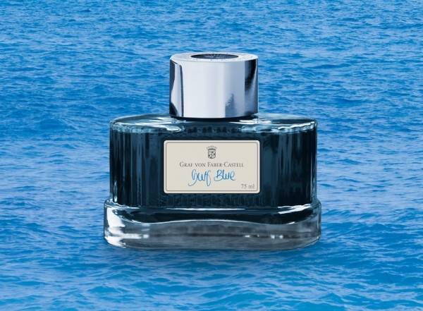 Calimara Cerneala Gulf Blue 75 ml Graf von Faber-Castell 0