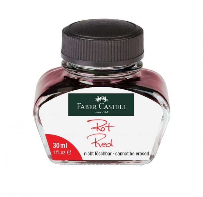 Calimara Cerneala Red 30 ml Faber-Castell [0]