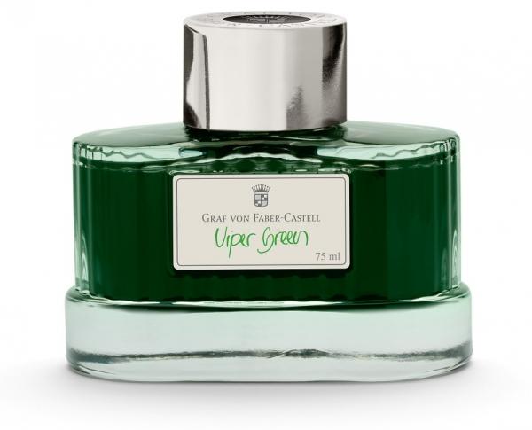 Calimara Cerneala Viper Green 75 ml Graf von Faber-Castell 1