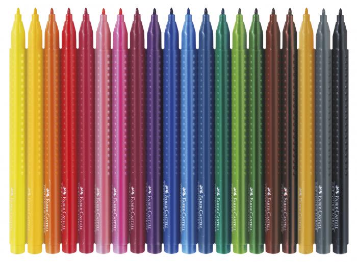 Carioci Grip 20 de culori Faber-Castell [1]