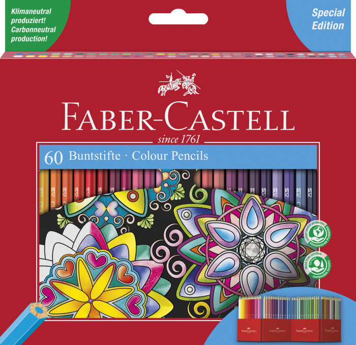 Creioane Colorate 60 Culori Editie Speciala Faber-Castell [0]